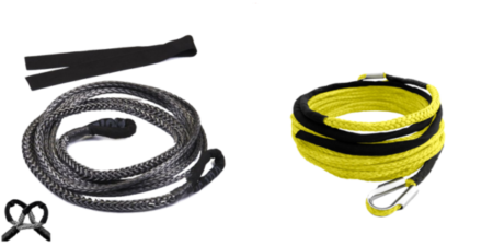 this is to show synthetic winch extension rope for 4x4 off road
