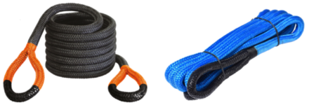 KINETIC ENERGY RECOVERY ROPE FOR