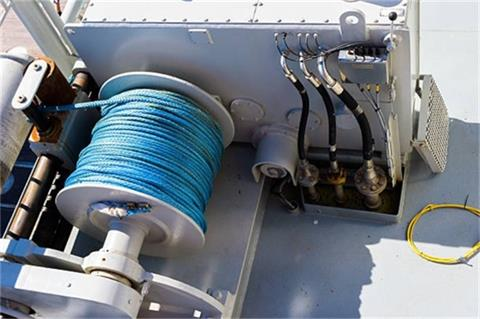 this is to show the synthetic cable for winch industry