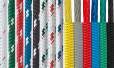 leisure marine double braided rope color