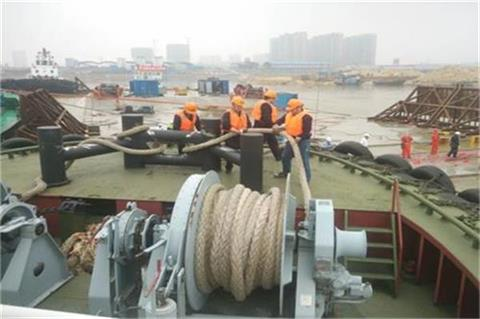 this is to show the synthetic cable for mooring and tug industry
