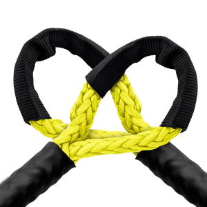 winch extension rope yellow
