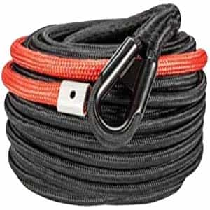 heavy duty winch line for 4x4 recovery